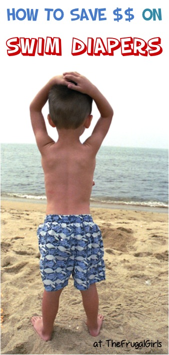How to Save Money on Swim Diapers at TheFrugalGirls.com