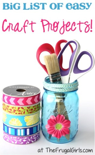 Fun Crafts from TheFrugalGirls.com