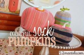 Sock Pumpkins