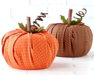 Toilet Paper Pumpkin Craft Instructions DIY