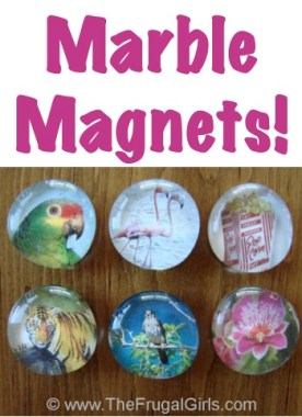 Marble Magnets Craft