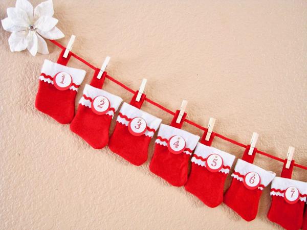 DIY Advent Calendar for Kids