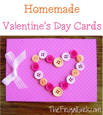 32 valentine s day crafts fun and romantic the frugal girls