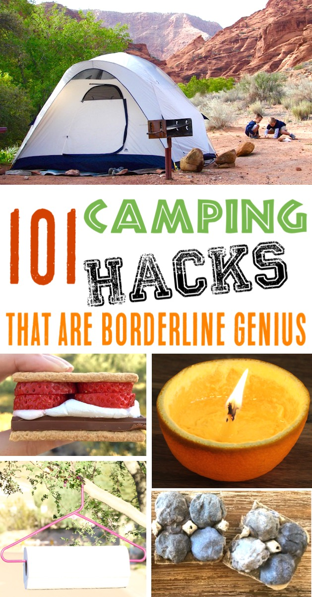 Camping Hacks That Are Borderline Genius