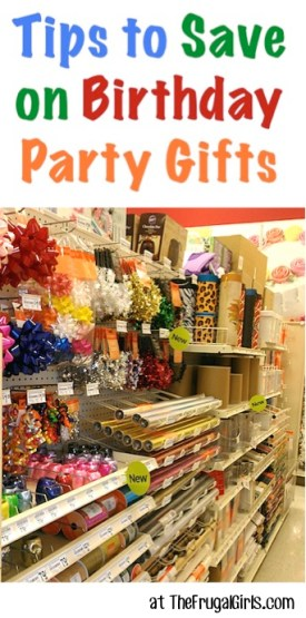 Ways To Save on Birthday Party Gifts