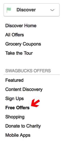 Swagbucks Free Offers