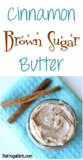 Cinnamon Brown Sugar Butter Recipe