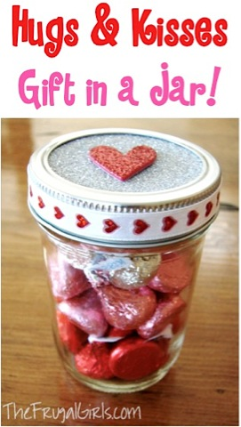 Hugs and Kisses in a Jar