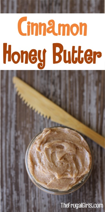 Cinnamon Honey Butter Spread from TheFrugalGirls.com
