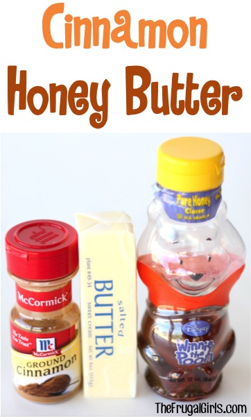 Cinnamon Honey Butter Recipe - from TheFrugalGirls.com