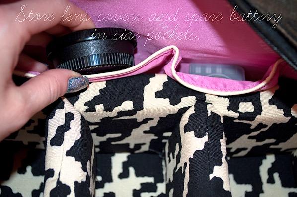 How to Make a Camera Bag Insert
