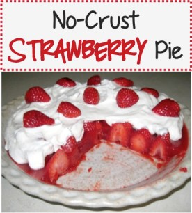 No Crust Strawberry Pie Recipe