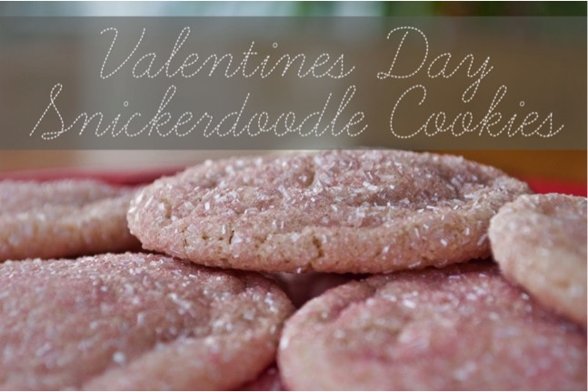 Valentine's Day Glitter Cookies at TheFrugalGirls.com