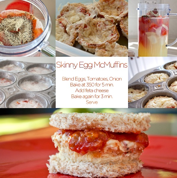 Healthy Egg McMuffins Recipe