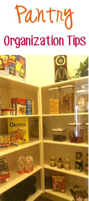 Pantry Organization Tips at TheFrugalGirls.com
