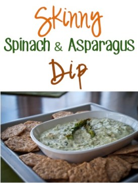 Skinny Spinach and Asparagus Dip Recipe