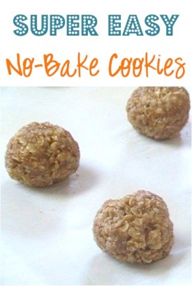 Super Easy No-Bake Cookies Recipe