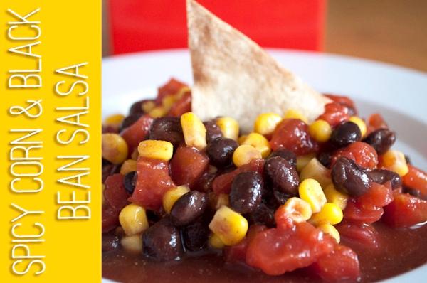 Black Bean Salsa Recipe with Corn
