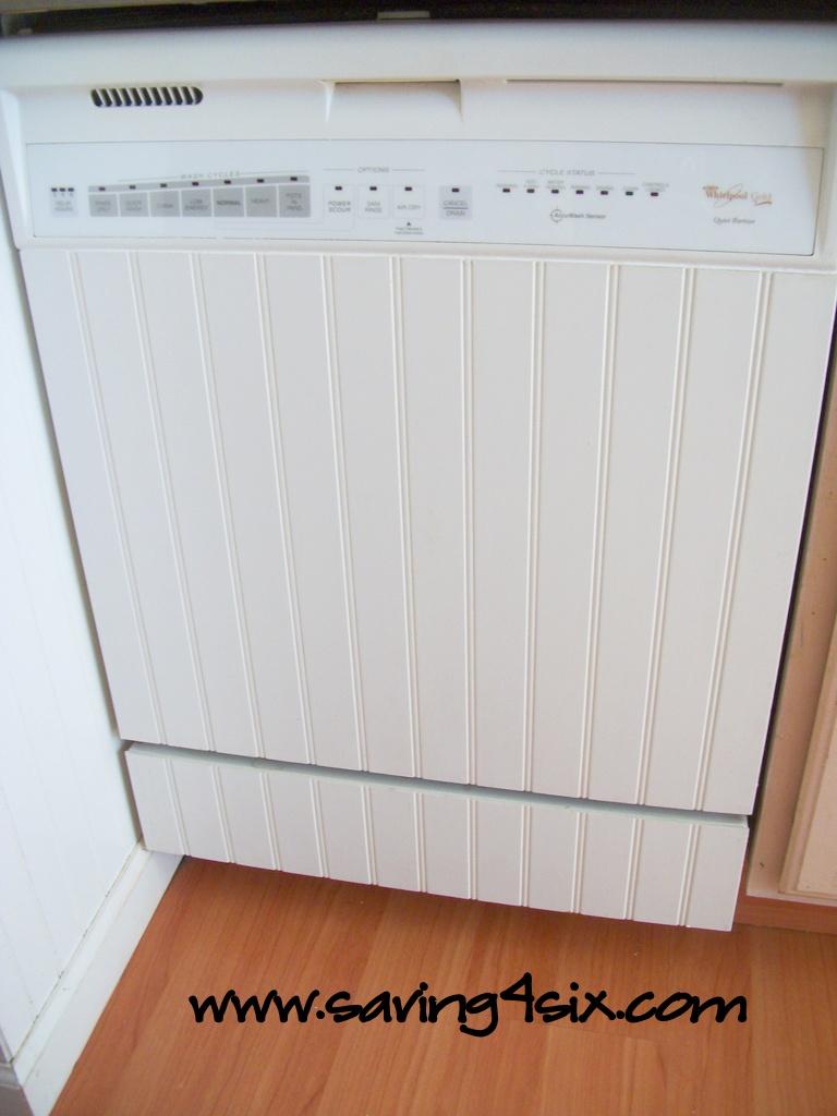 DIY Dishwasher Facelift on a Budget!