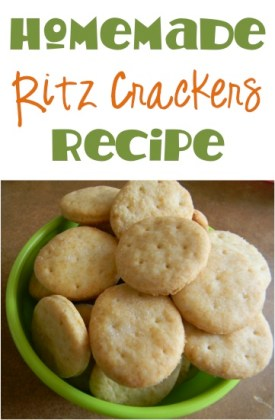 Homemade Ritz Crackers Recipe