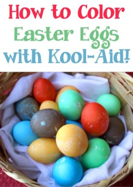 How to Color Easter Eggs with Kool-Aid