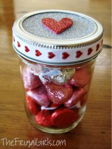 Hugs and Kisses in a Jar!
