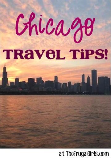 Best Chicago Travel Tips at TheFrugalGirls.com