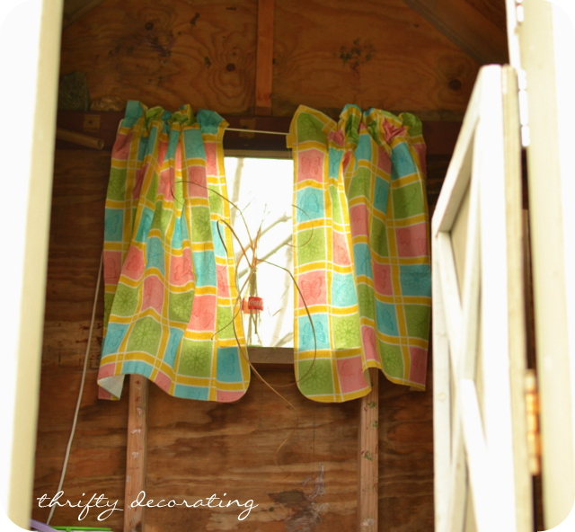 How To Use Clothesline To Hang Curtains