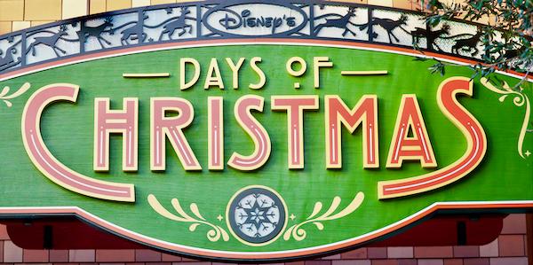 Disney Springs Days of Christmas