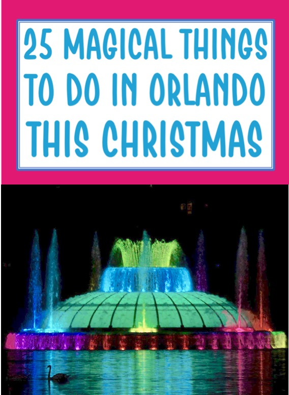 Orlando Things to Do in Florida for Christmas Vacation