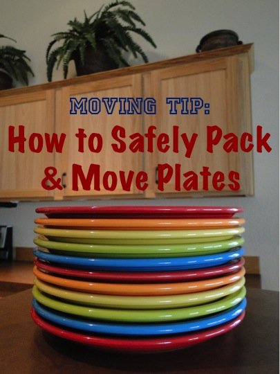 Moving Tip: How to Safely Pack and Move Plates from TheFrugalGirls.com
