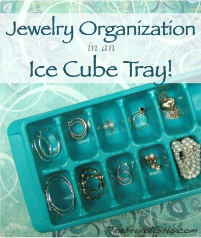 Jewelry Organization at TheFrugalGirls.com