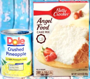 Pineapple Angel Food Cake Recipe Easy