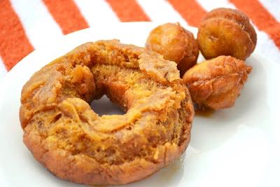 Pumpkin Spice Donut Recipe