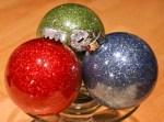 DIY Glitter Ornament Easy