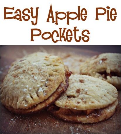 Easy Apple Pie Pockets Recipe