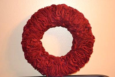 Felt Wreath Pattern