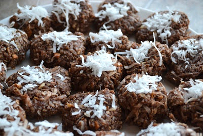 Almond Joy No Bake Cookie Recipe