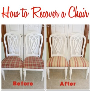 How to Recover a Chair
