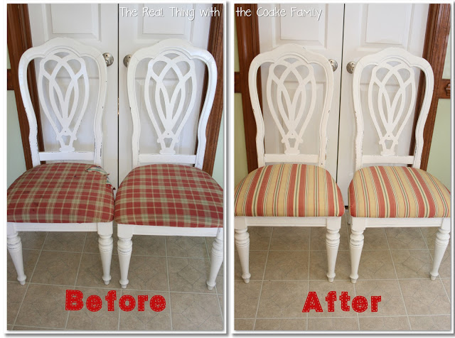 how to reupholster a dining room chair seat