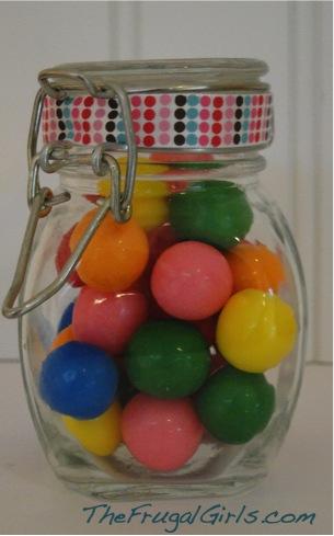 Gumballs in a Jar