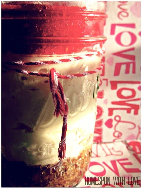 No Bake Cheesecake in a Mason Jar Recipe