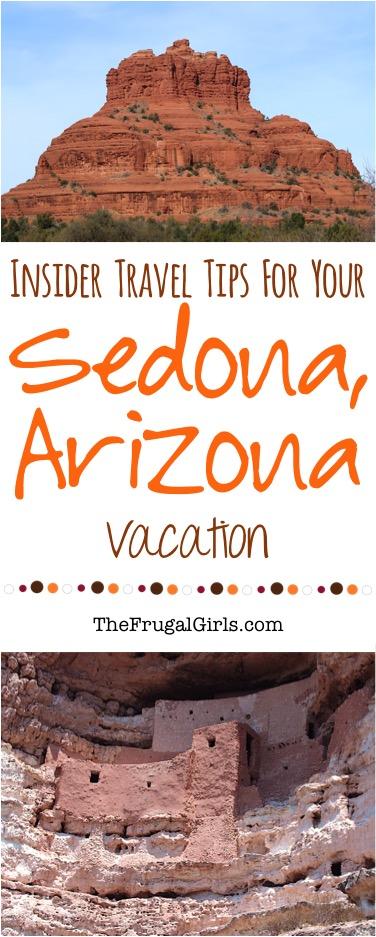 Sedona Arizona Travel Tips from TheFrugalGirls.com