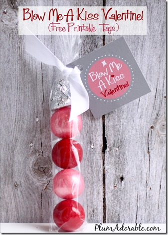 Blow-Me-A-Kiss Valentines