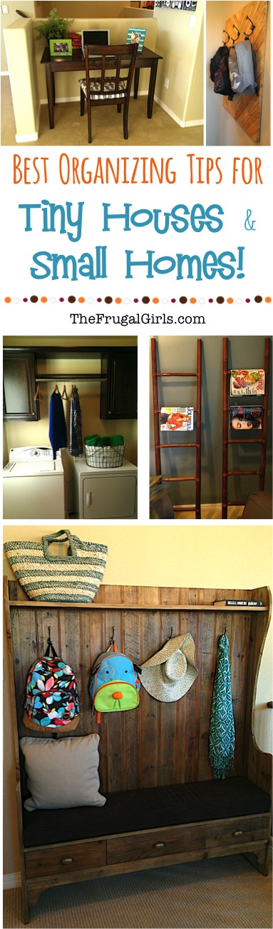 Creative Storage Solutions for Small Houses - at TheFrugalGirls.com