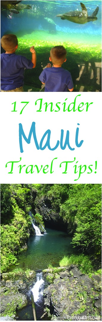 Best Maui Travel Tips from TheFrugalGirls.com