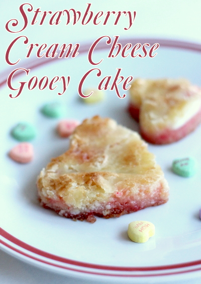 Strawberry Cream Cheese Gooey Cake Recipe