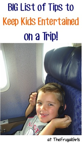 Ways to Keep Kids Entertained on a Road Trip