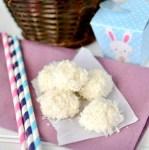 Coconut Bunny Tails Recipe