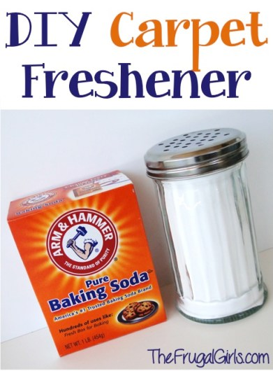 DIY Carpet Freshener with Baking Soda